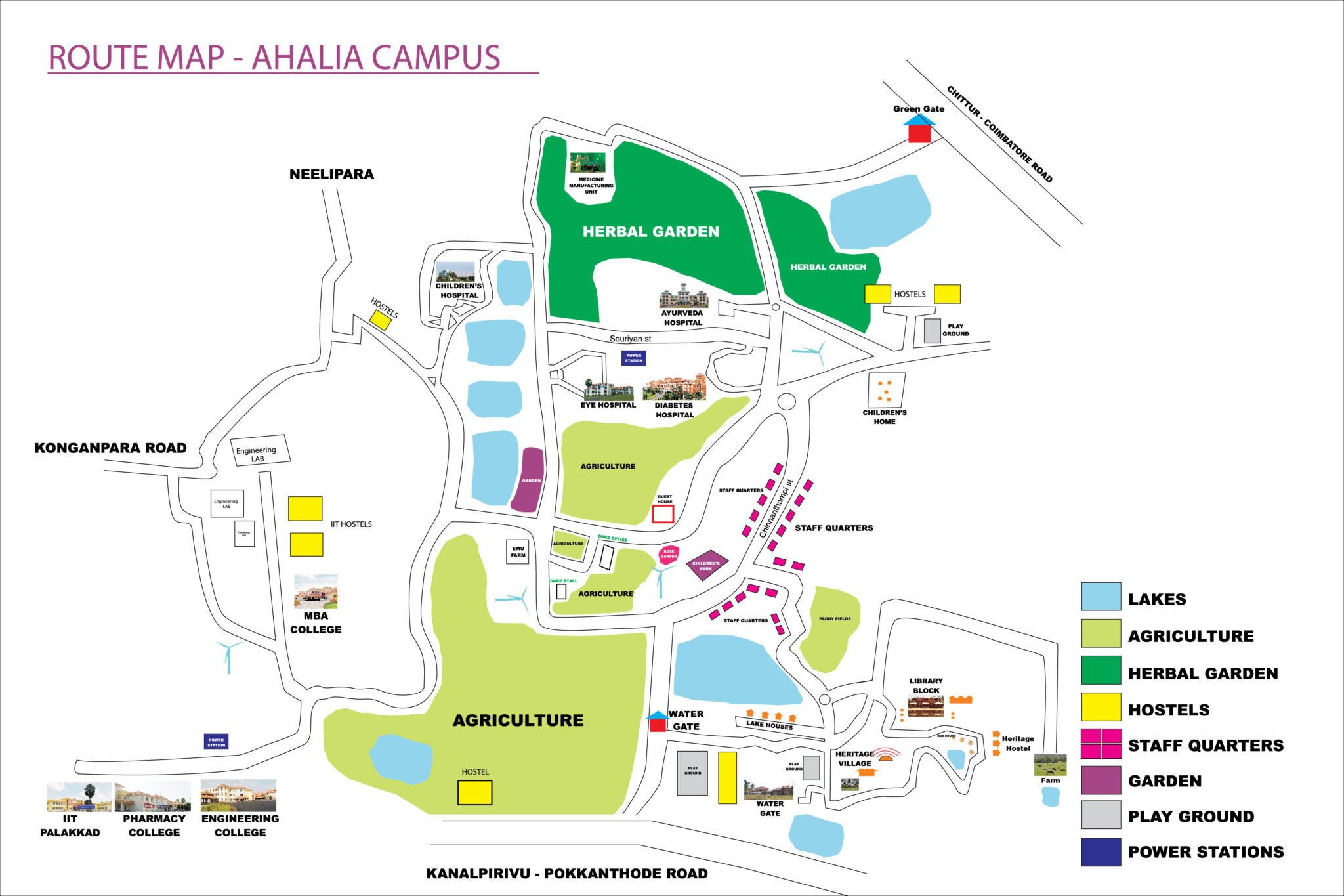 Campus Route Map-01